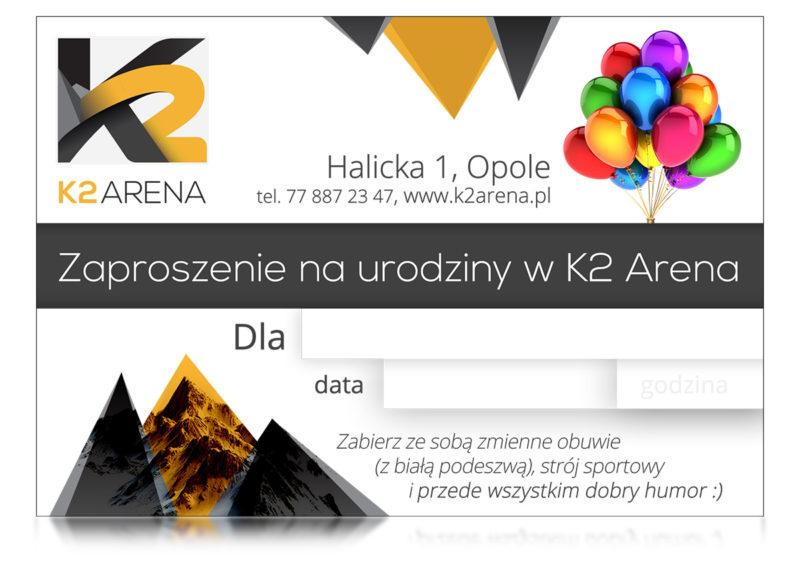 Urodziny na ściance K2 Arena